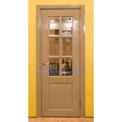 """Дверное полотно """"Классик"""" 3 филенки под стекло"""