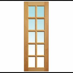 """Дверное полотно """"Шоколадка"""" под стекло"""