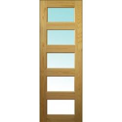 """Дверное полотно """"Домино"""" под стекло"""